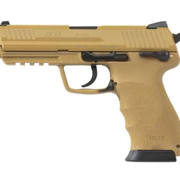 HK45 DA/SA (V1) Tan Frame and Slde