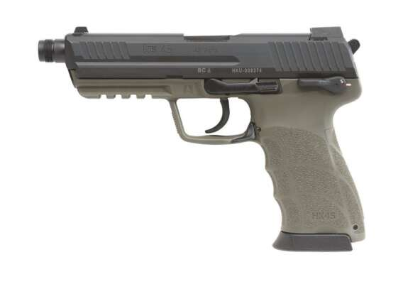 HK45 Tactical DA/SA (V1) OD Green Frame